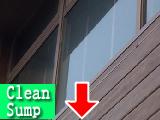 高窓清掃前